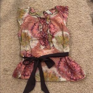 Anthropologie Odille Blouse Size 6